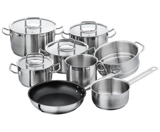 194\u20ac - Werden Sie mit dem Kochtopf-Set PROFESSIONAL HOME Küche