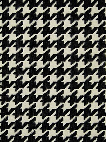 B W Houndstooth Fabric For Wingbacks Houndstooth Fabric Fabric