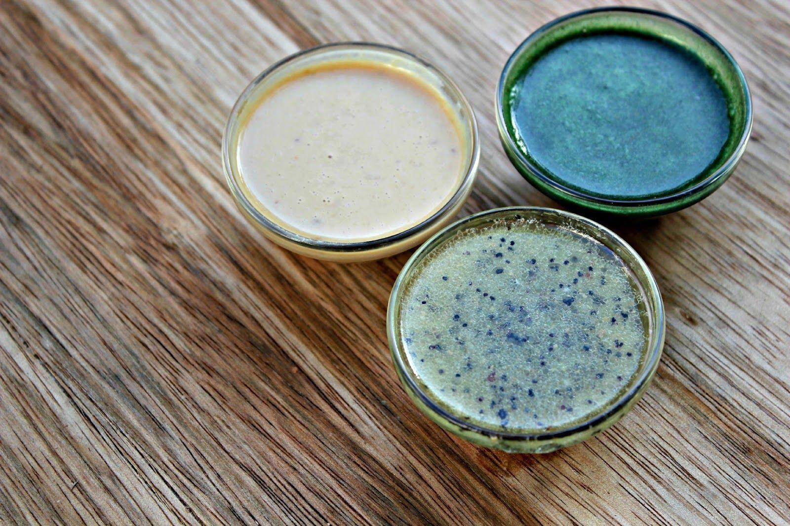 Three Easy RAW Vegan Salad Dressings: Poppyseed, Creamy Tahiti Miso, and Green Dream Dressing
