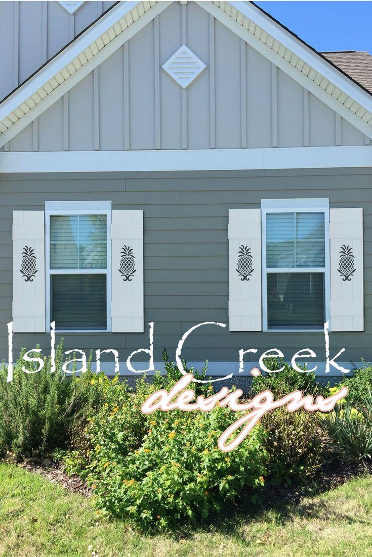 Custom Board & Batten Style Shutters with Coastal Cutout Designs ...