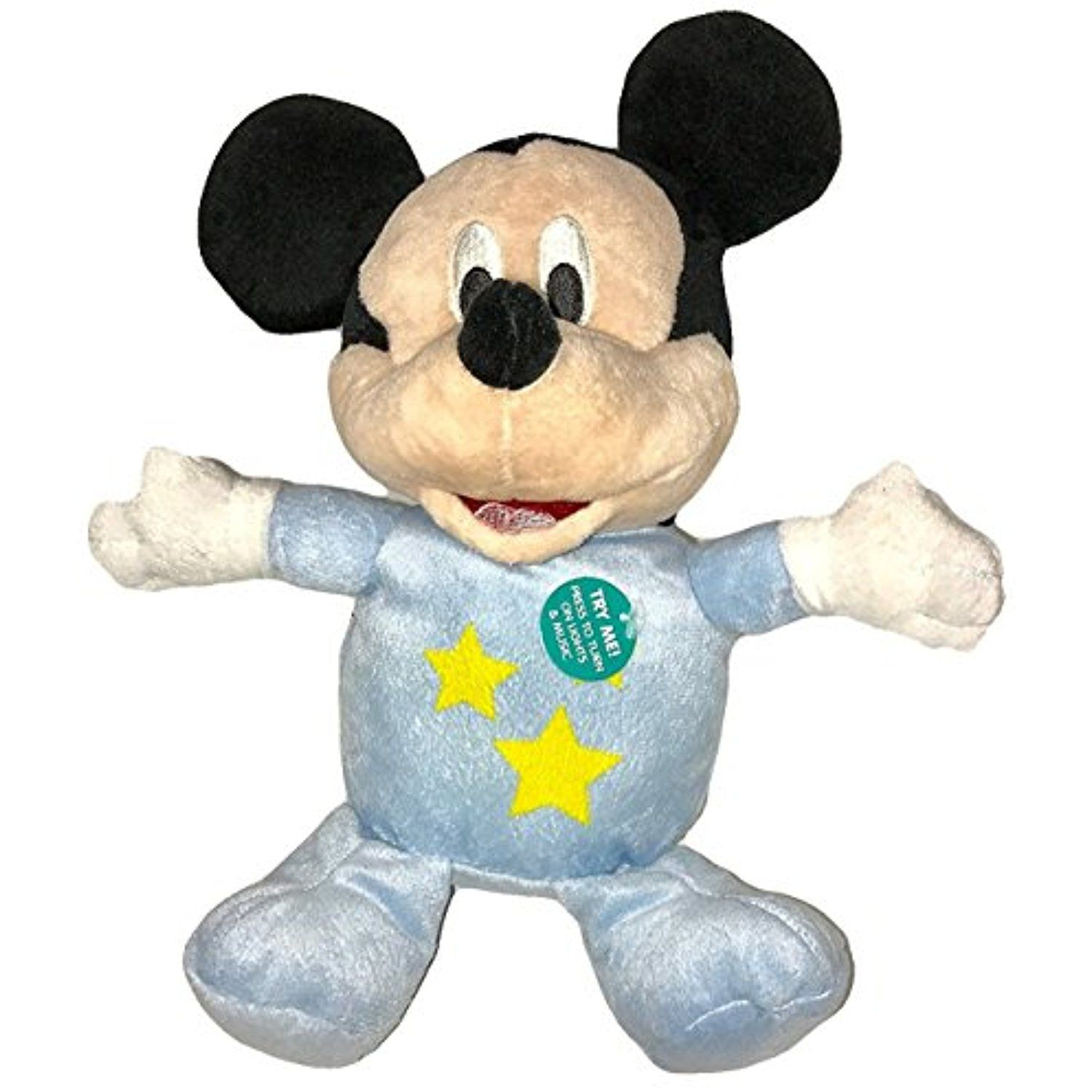 Predownload: Disney Baby Mickey Mouse 11 Plush With Musical Glow Belly Learn More By Visiting The Image Link This Is An Aff Baby Mickey Mouse Baby Mickey Baby Disney [ 1500 x 1500 Pixel ]