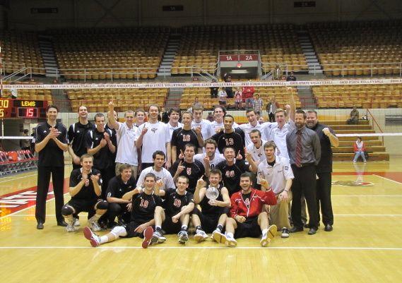 No 7 Lewis Men S Volleyball Wins 2012 Miva Championship Mens Volleyball Volleyball Lewis University