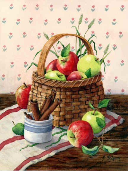 Apples and Cinnamon by Maureen McCarthy ~ autumn ~ harvest ...