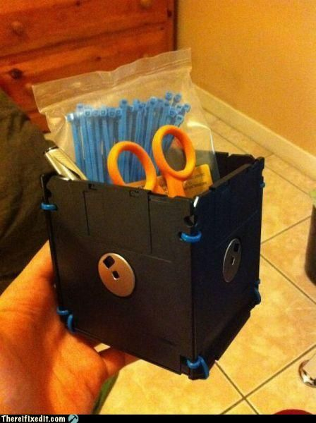 what to do with old floppy disks and cds