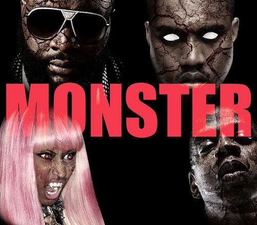Kanye West Nicki Minaj Jay Z Rick Ross Monster Video Monster Video Kanye Rick Ross Kanye West Monster Kanye West