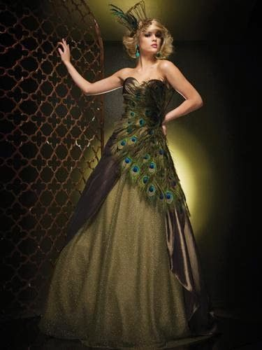 Explore Peacock Wedding Dresses Prom And More