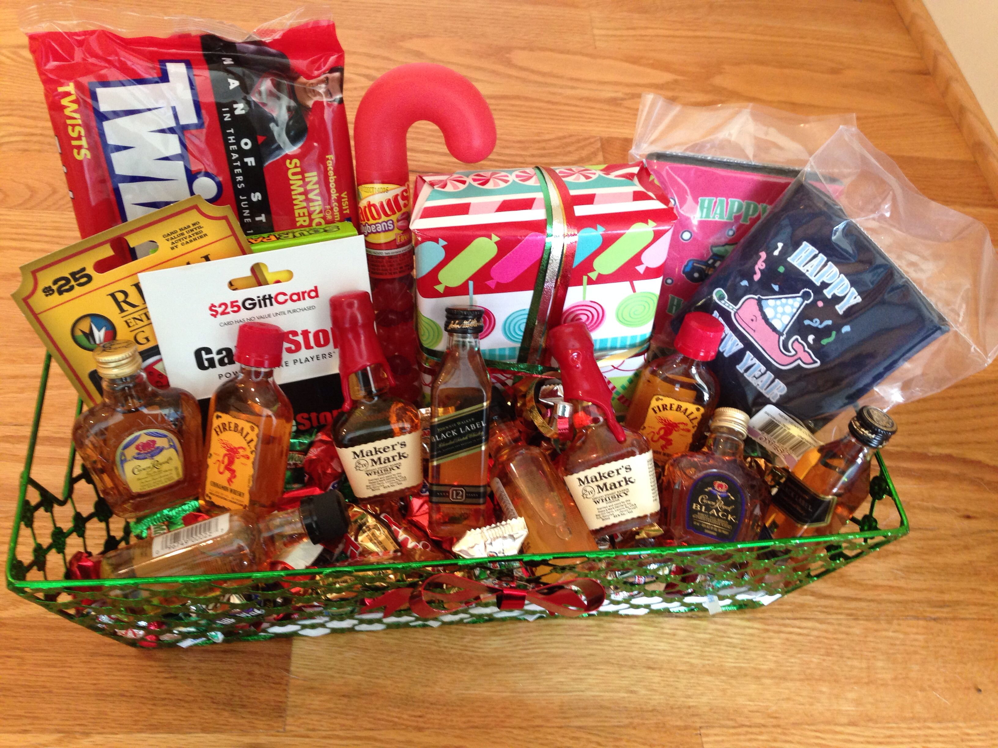 Gift basket for him making a gift basket gifts gifts