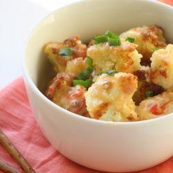 Bang Bang Cauliflower: A veggie version of Bone Fish Grill's famous bang bang shrimp