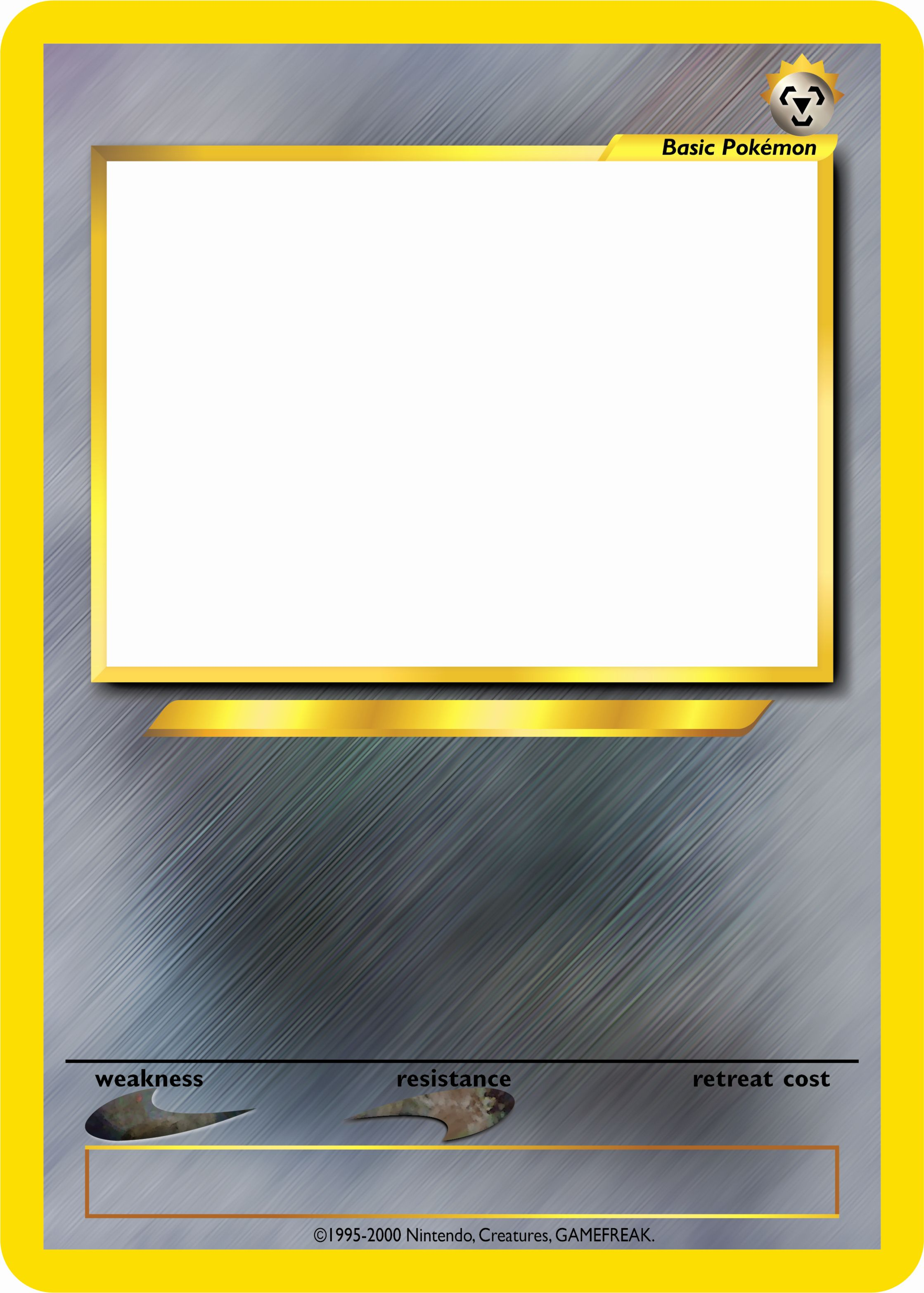 Blank Trading Card Template Inspirational Pokemon Tcg Blanks Neo Jumbo Basic By Icycatelf On Trading Card Template Baseball Card Template Pokemon Card Template