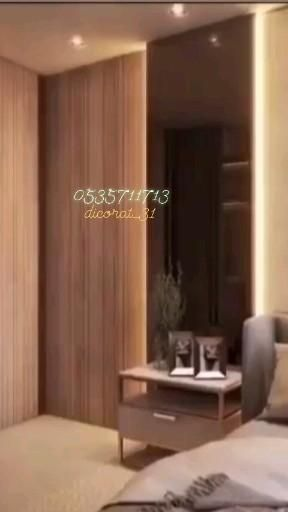 احدث ديكورات سرير ديكور خلف سرير ديكور راس السرير خشب خلفية سرير هيد بورد Video In 2021