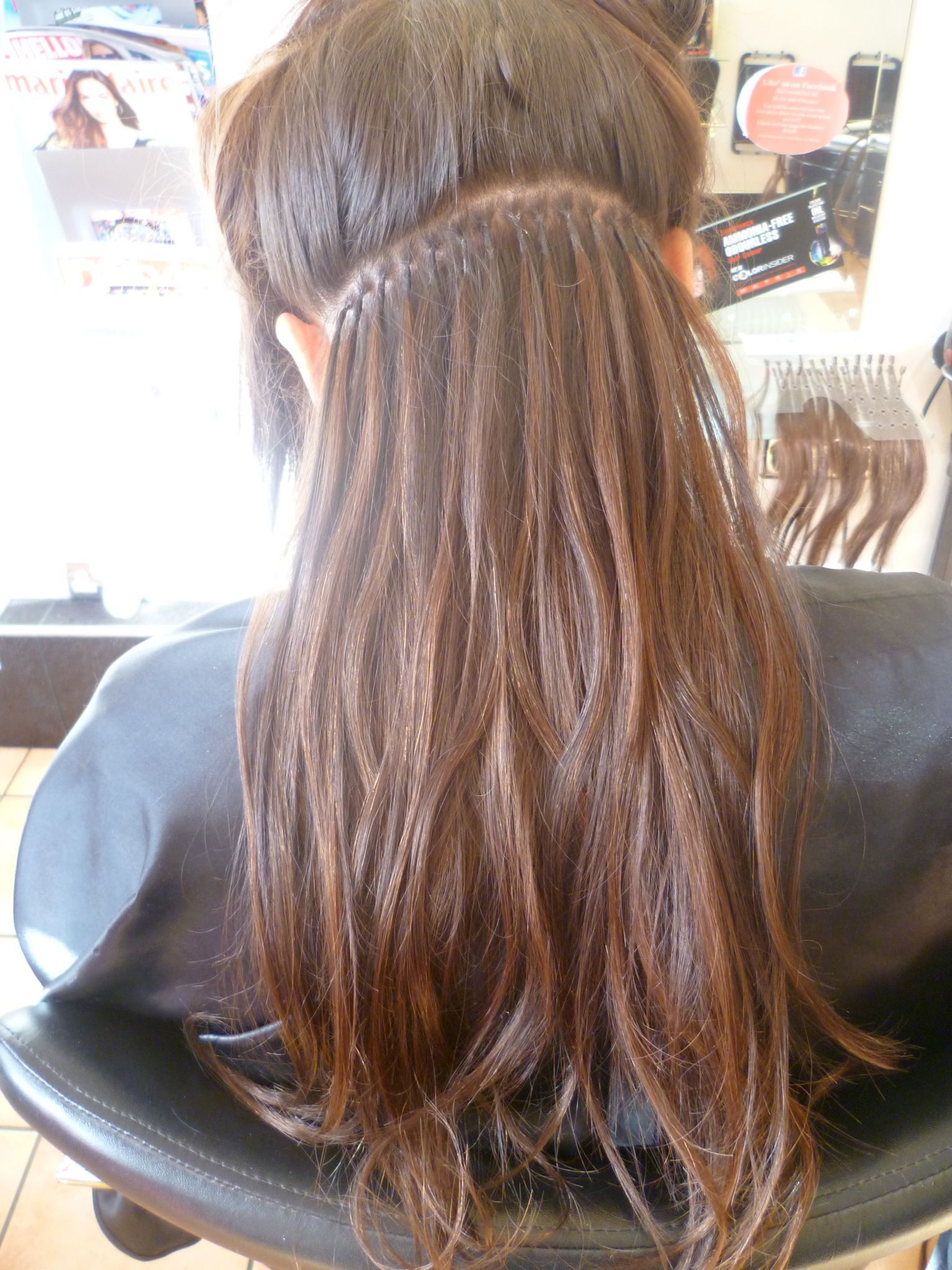 Application Of Balmain Fill In Extensions Balmain Hair Extensions