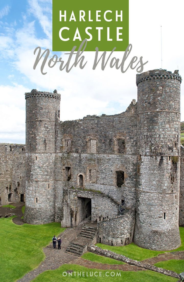 Exploring Harlech Castle in North Wales #visitwales