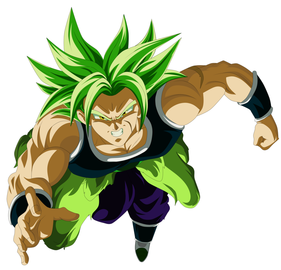 Broly 2018 The Movie Dbs 2018 Render By Alejandrodbs Dragon Ball Super Dbz Characters Captain America Wallpaper