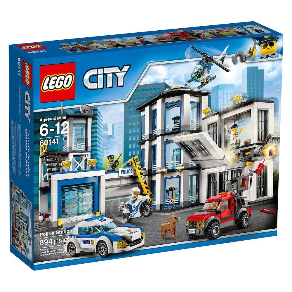 Lego 60141-City-Poste de Police