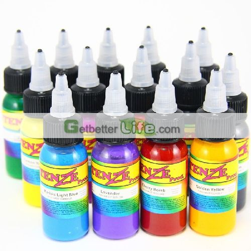 Wholesale Intenze Tattoo Inks With 14 Different Colors 30ml Bottle Tattoo Ink Supplies Offered Cheap Ink Tattoo Best Tattoo Ink Tattoo Ink Sets