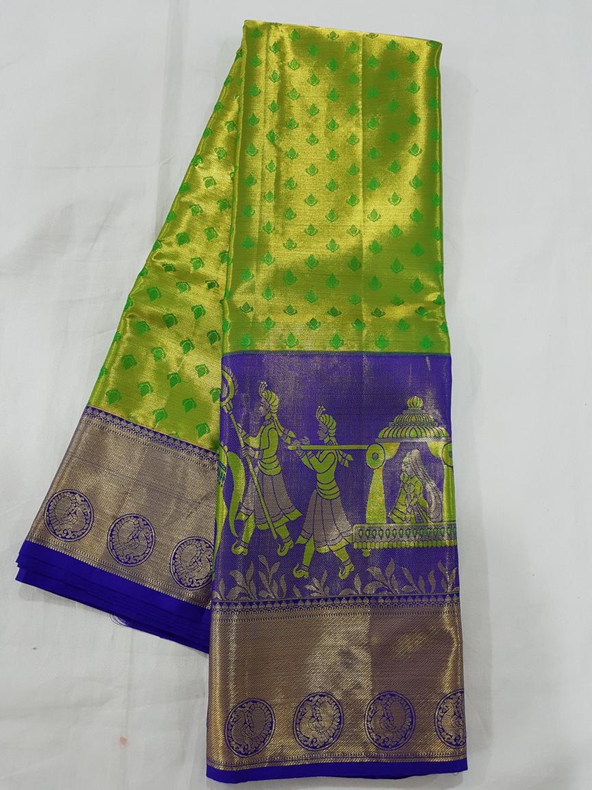 23b9374577 Kanchipuram Silk Saree Manufacturer and Wholsaler - Kanchipuram Wedding Silk  Saree Wholesale Price and Best Famouse Bridal Silk Saree shop