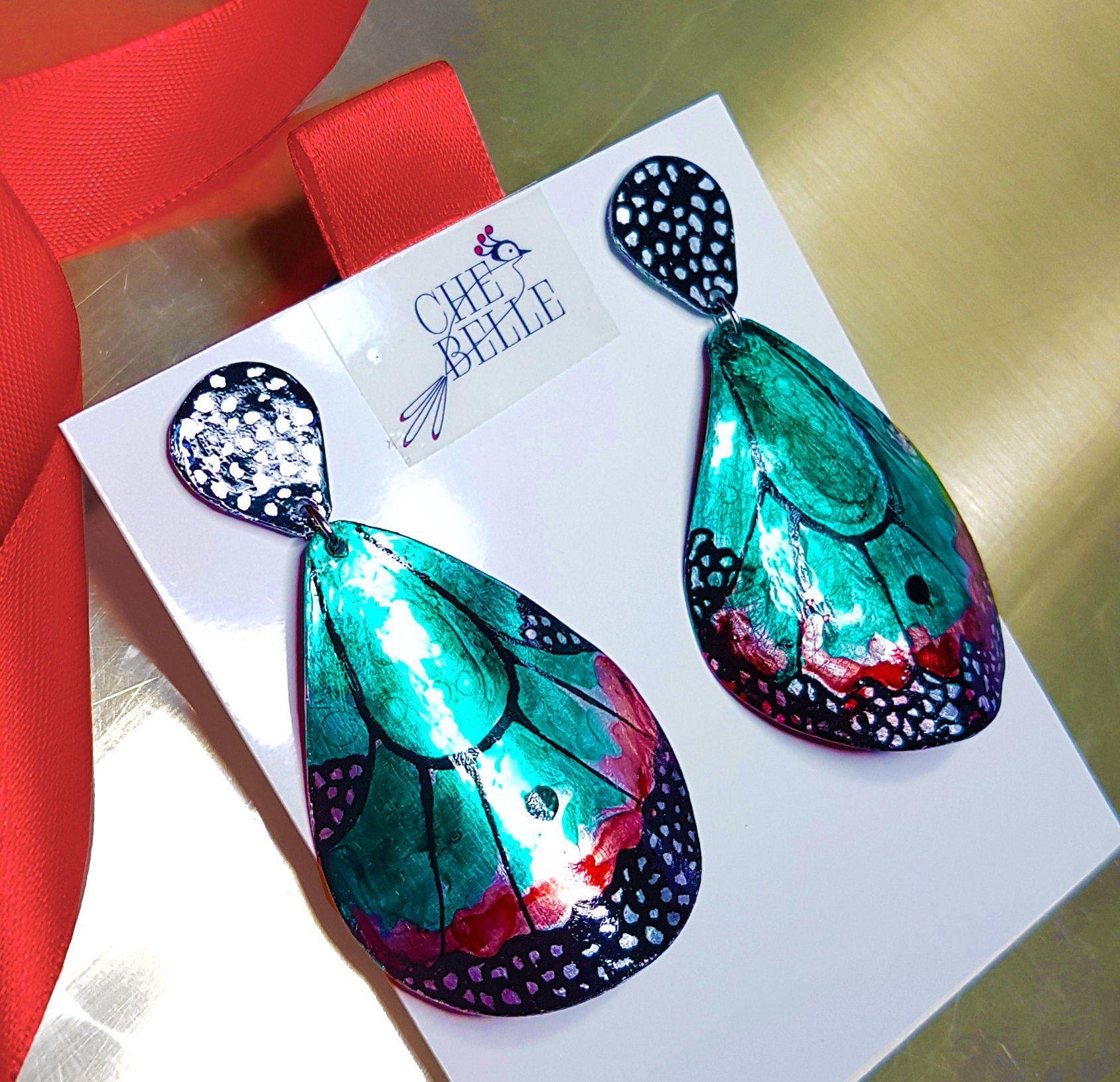 Orecchini -hand made- orecchini fatti a mano -bijoux -orecchini