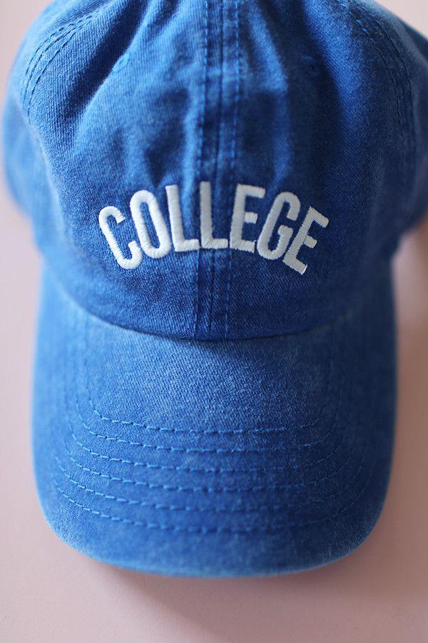 bb0d4e2cbbd College Baseball Cap Baseball Cleats