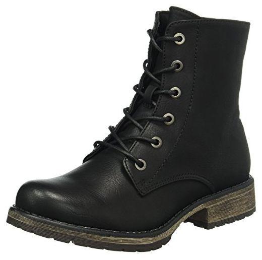 RIEKER DAMEN SCHUHE Boots Stiefel Absatzstiefel