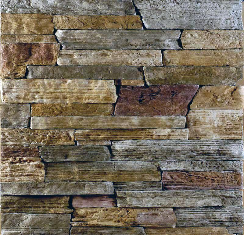 Steinwand verblender wandverkleidung steinoptik bretagne amber - Steinwand verblender ...