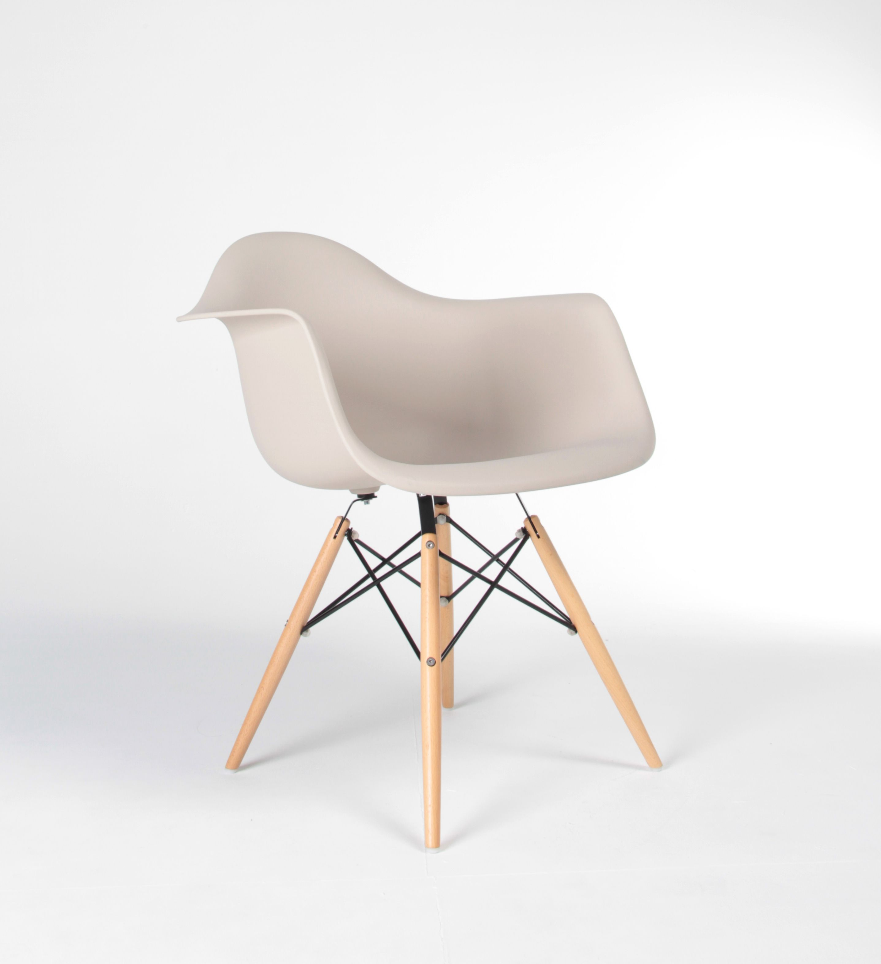 Nathan Rhodes Design Replica Eames DAW Chair, Finished In Beige PP Plastic.  Also Available