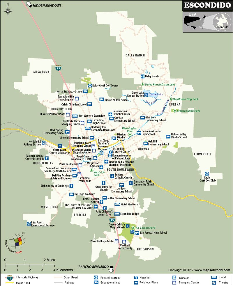 City Map Of San Go on