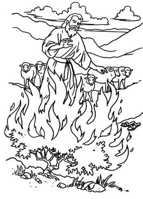 La Zarza Ardiente Pasaron Los Anos Y El Pueblo Zarza Ardiente Artesania Biblica Arte Biblico