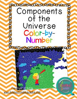 This product is a color-by-number activity that allows students to answer various questions relating to the various components of the universe.  And YES- even secondary students love to color! This product is great for assessing the following standard:TEKS 8.8: The student knows characteristics of the universe.