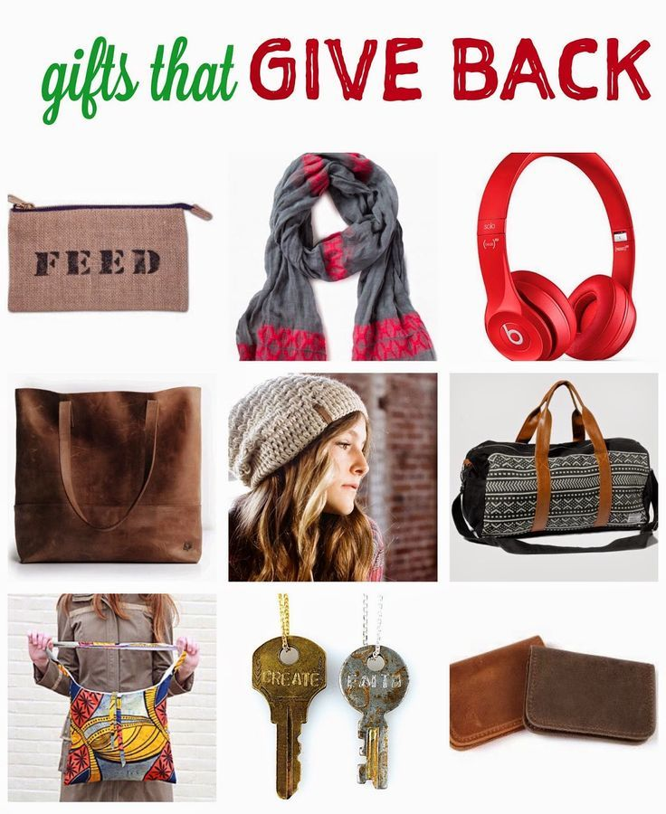 Gifts that give back 2014 with 31 bits krochet kids intl