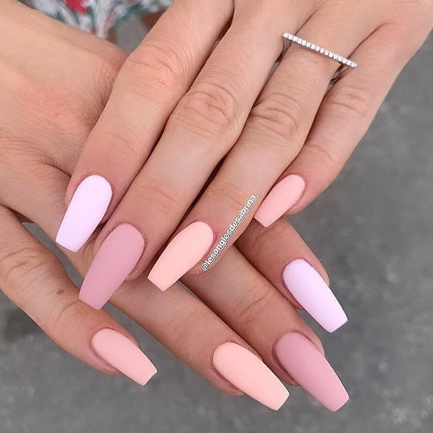 20+ Prettiest Summer Nail Colors of 20 in 20   Acrylic nails ...