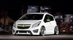Blanco Al Piso Chevrolet Spark Spark Car Chevrolet