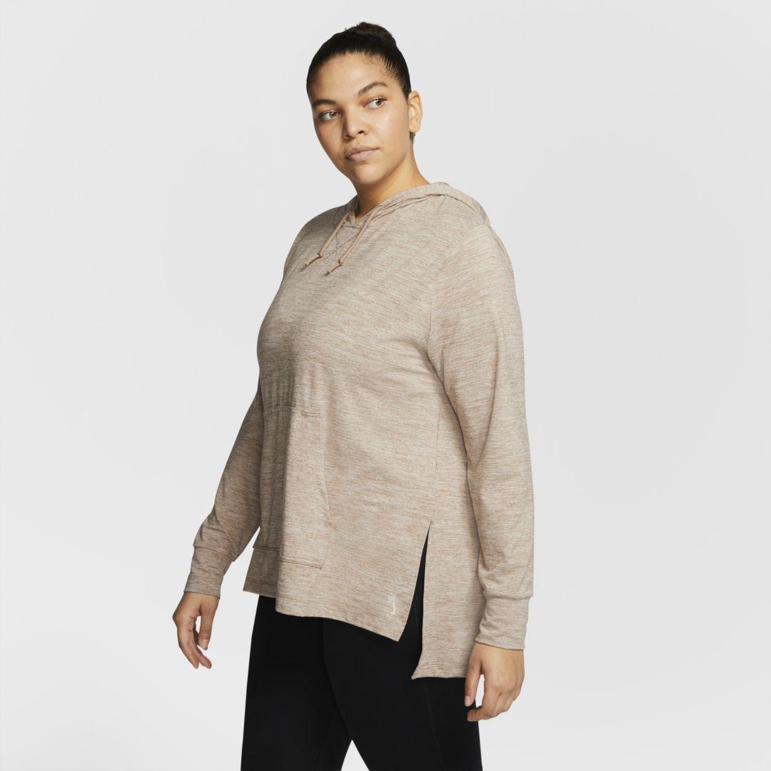 Nike Yoga Women's Hoodie (Plus Size). Nike.com 2