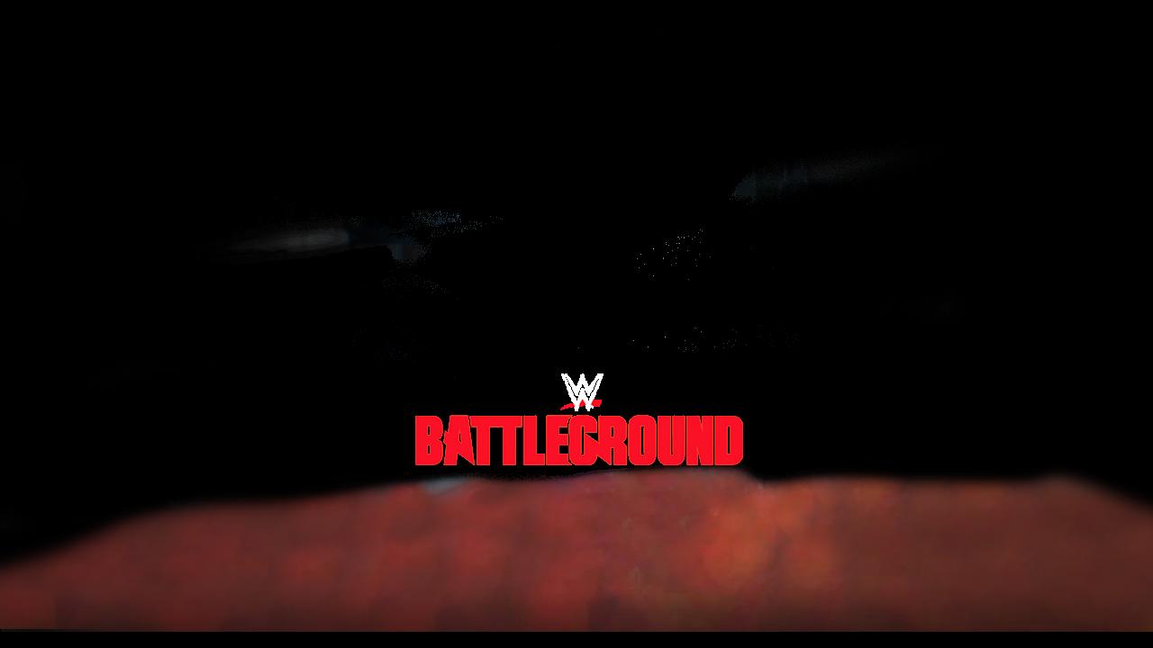 Wwe Battleground 2017 Nameplate Flag Match Card By Jika Png Name Plate Neon Signs Wwe