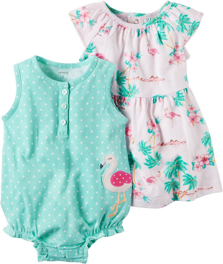 34fe36f145e Carter s 2-pc. Layette Set-Baby Girls