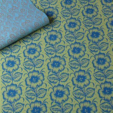 Musterwalze 1604 mit großer Blüte - pattern roller with big flower