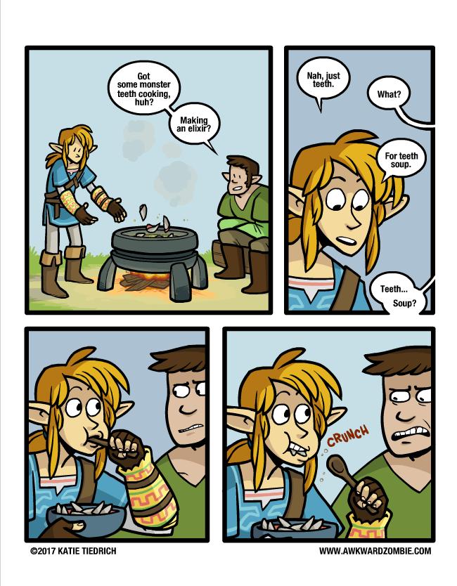 Teeth Soup Legend Of Stuff Pinterest Legend Of Zelda Zelda