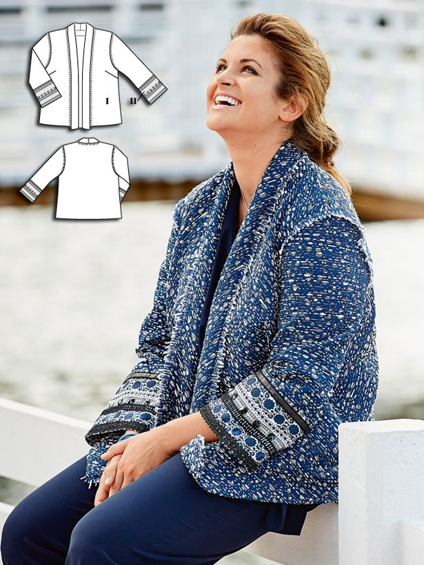 Moody Blues: 10 New Plus Size Sewing Patterns for Women ...