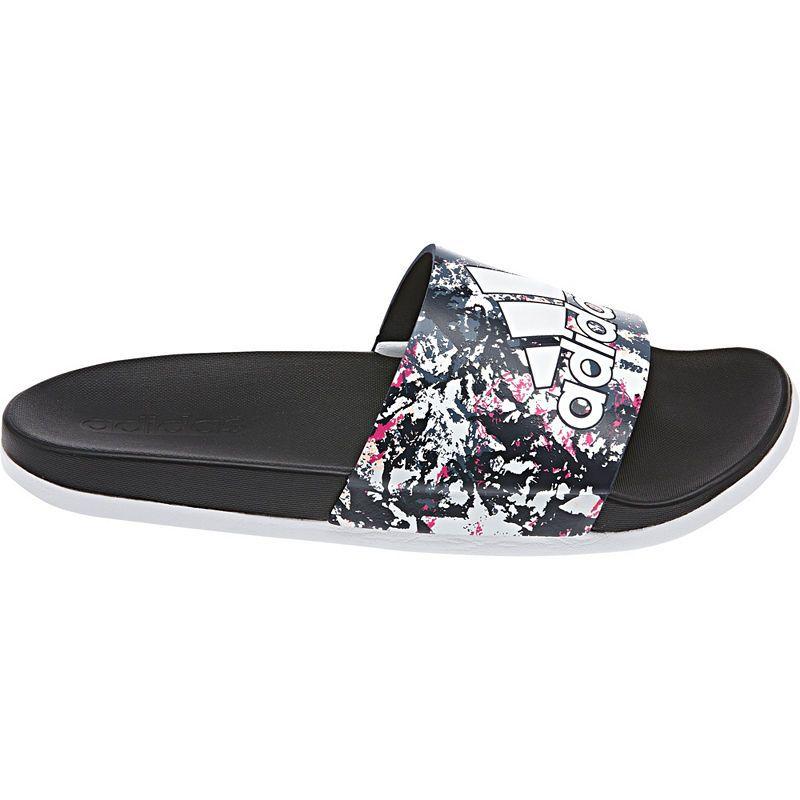 adidas Adilette Cloudfoam + GR Womens Slide Sandals | Sport ...