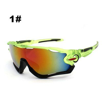 dd4733254d Cycling Glasses Bike Goggles for women men Outdoor Sports Sunglasses UV400  Big Lens Spectacles Sunglasses