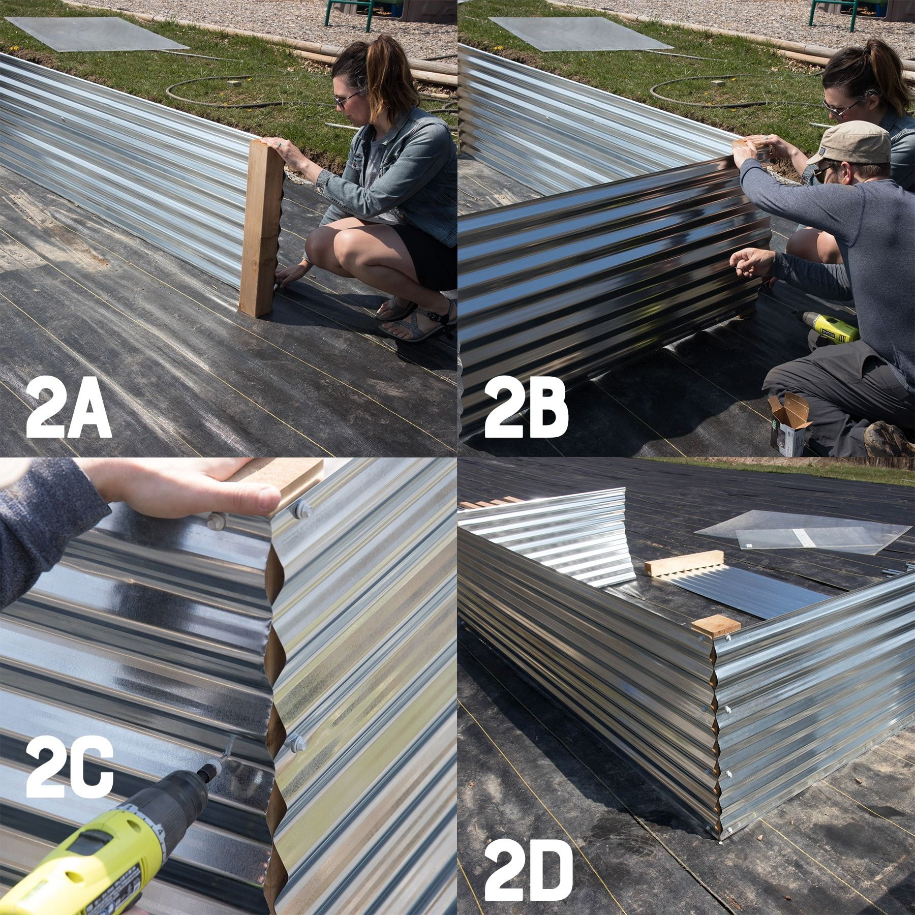 All About Our New Galvanized Steel Raised Beds (Free Plans
