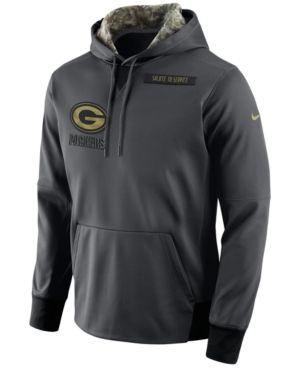 super popular 6f7ac bd817 Nike Men's Men's Green Bay Packers Salute to Service Hoodie ...