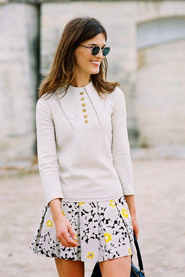 this blouse is so parisian