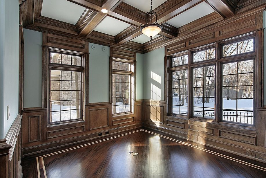 Beautiful coffered ceiling - The Coffered Ceiling for ...