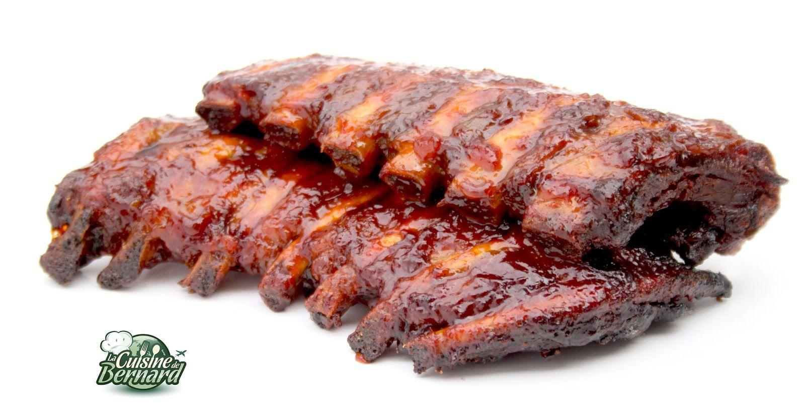 La cuisine de bernard travers de porc grill s sauce barbecue cuisine porc grill sauce - Cuisiner travers de porc ...