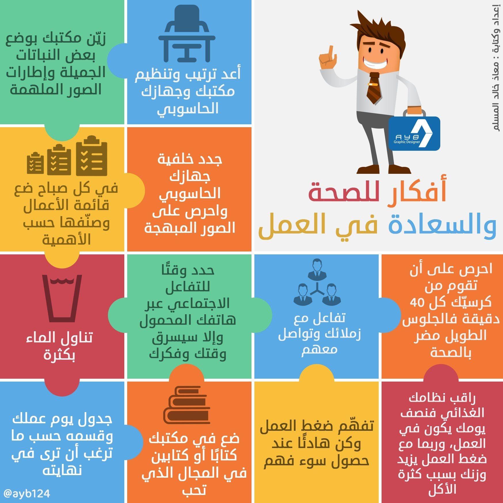 أفكار للصحة والسعادة في العمل Face Exercises Arabic Words Books To Read
