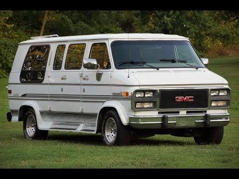 1992 Gmc Vandura 2500 Conversion Van Rv Van Gmc Van Conversion