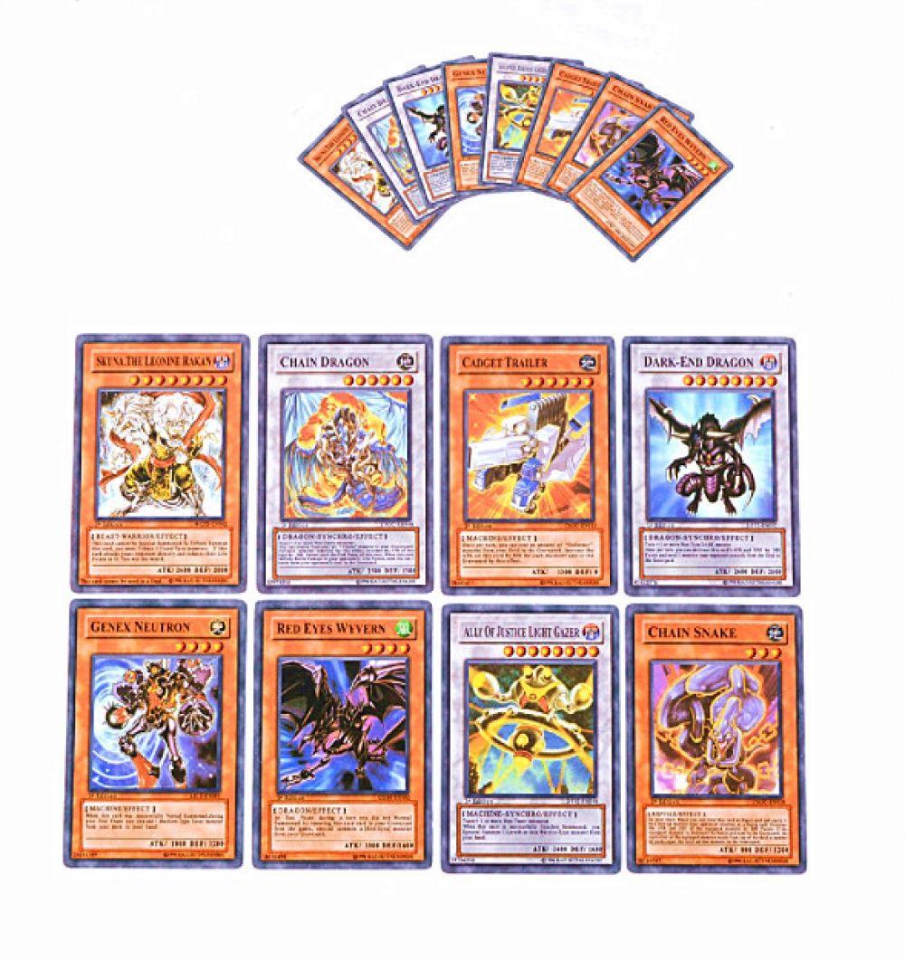 64 pcsensemble yugioh rare flash cartes yu gi oh jeu