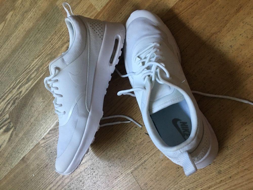 cheap for discount 245ff 27fa7 90 NIKE womens Air Max Thea sneaker shoes WhiteWhite 599409-104 US 9.5