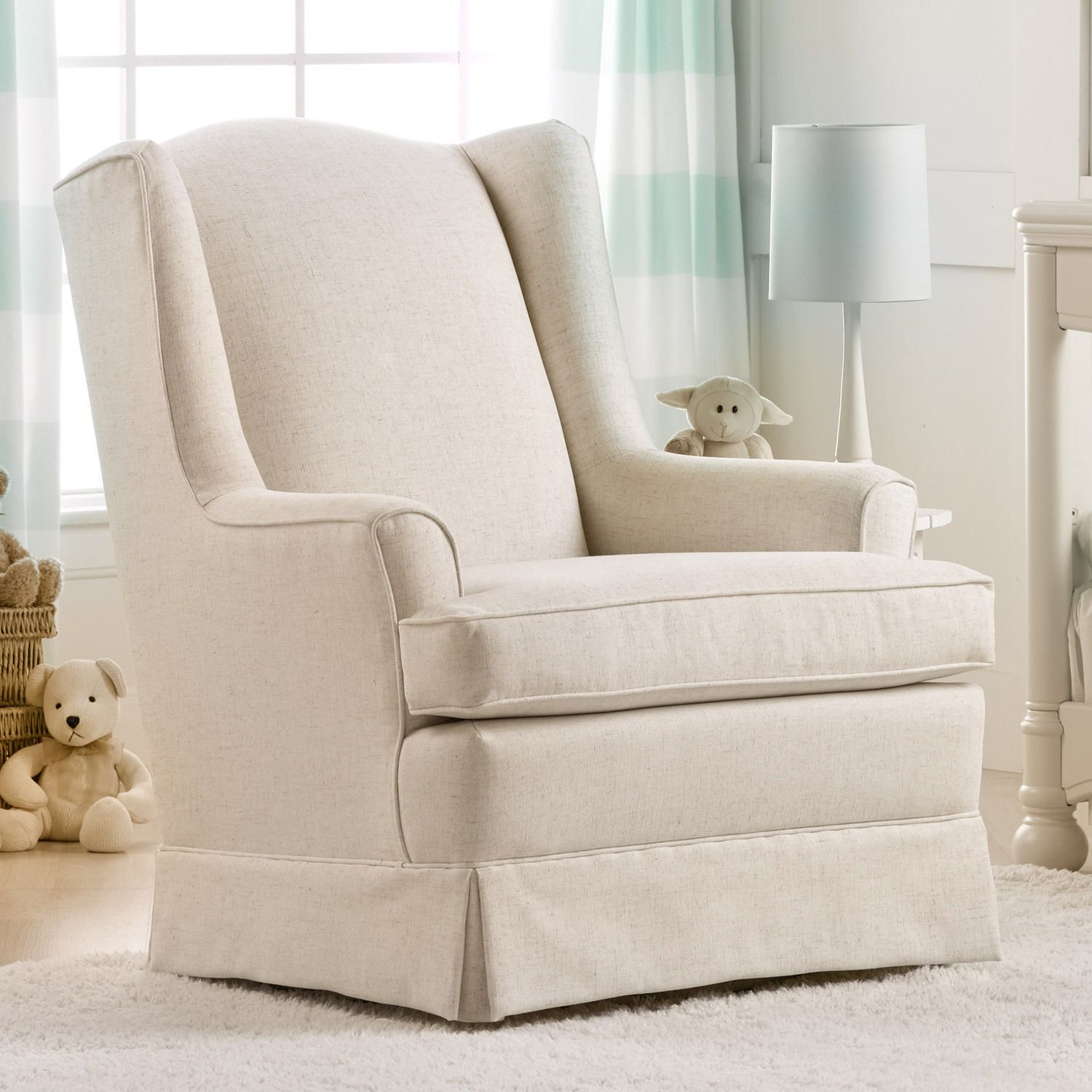 Best Chairs Sutton Upholstered Swivel Glider