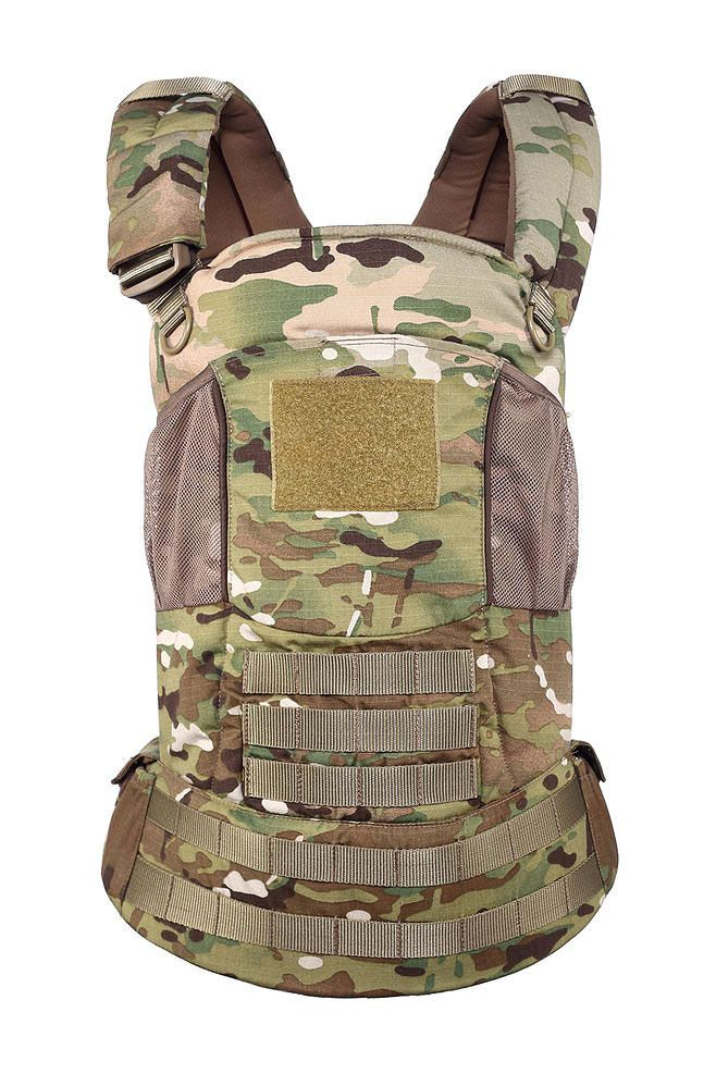 Multicam Baby Carrier For Operators Baby Carrier Tactical Baby Carrier Tactical Baby Gear